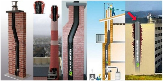 ProForm Chimney Lining - Furan Flex Chimney Lining